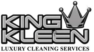 king kleen grey logo